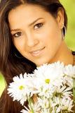 εξωτικό πορτρέτο κοριτσιών Στοκ φωτογραφίες με δικαίωμα ελεύθερης χρήσης