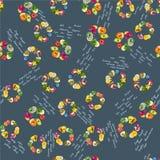 Εξωτικό σχέδιο φρούτων Στοκ Εικόνες