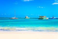 Εξόρμηση στον ωκεανό σε Punta Cana, 27 04 13 Στοκ φωτογραφίες με δικαίωμα ελεύθερης χρήσης