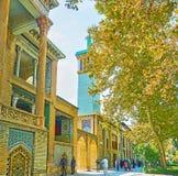 Εξόρμηση στο παλάτι Golestan, Τεχεράνη Στοκ Εικόνες