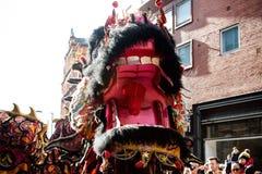 Εορτασμοί για να γιορτάσει το κινεζικό νέο έτος στο Λονδίνο για το έτος στοκ φωτογραφία
