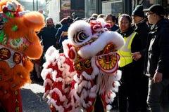 Εορτασμοί για να γιορτάσει το κινεζικό νέο έτος στο Λονδίνο για το έτος στοκ φωτογραφίες με δικαίωμα ελεύθερης χρήσης