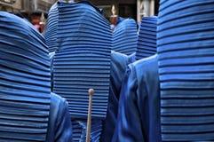Εορτασμοί εβδομάδας Πάσχας Teruel, Ισπανία στοκ φωτογραφία με δικαίωμα ελεύθερης χρήσης