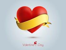 Εορτασμοί ημέρας του ευτυχούς βαλεντίνου με την καρδιά ελεύθερη απεικόνιση δικαιώματος