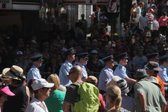Εορτασμοί ημέρας Anzac Στοκ Φωτογραφίες