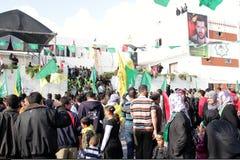 Εορτασμοί νίκης στη Γάζα στοκ εικόνες με δικαίωμα ελεύθερης χρήσης