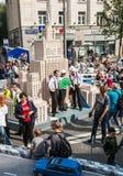 Εορτασμοί προς τιμή τα γενέθλια της 870ης επετείου ο Στοκ Φωτογραφίες