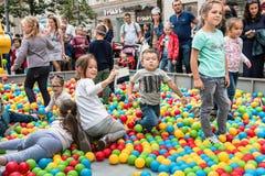 Εορτασμοί προς τιμή τα γενέθλια της 870ης επετείου Στοκ Εικόνα