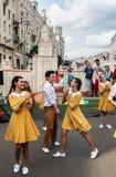 Εορτασμοί προς τιμή τα γενέθλια της 870ης επετείου στοκ φωτογραφία