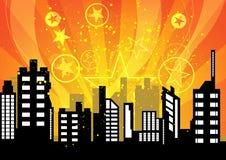 Εορτασμοί πόλεων διανυσματική απεικόνιση