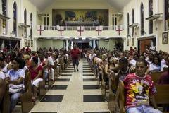 Εορτασμοί της ημέρας του ST George στο Ρίο ντε Τζανέιρο στοκ φωτογραφίες