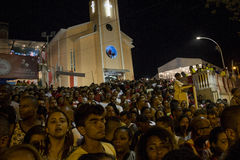 Εορτασμοί της ημέρας του ST George στο Ρίο ντε Τζανέιρο στοκ εικόνα με δικαίωμα ελεύθερης χρήσης