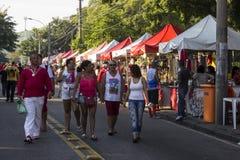 Εορτασμοί της ημέρας του ST George στο Ρίο ντε Τζανέιρο στοκ φωτογραφία
