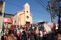 Εορτασμοί της ημέρας του ST George στο Ρίο ντε Τζανέιρο στοκ εικόνα