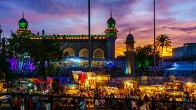 Εορτασμοί Ramzan στο Hyderabad Στοκ φωτογραφία με δικαίωμα ελεύθερης χρήσης