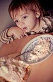 εορτασμός αγοριών γενεθλίων χαριτωμένος Στοκ Φωτογραφίες