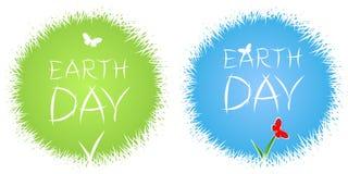 Εορτασμός γήινης ημέρας ελεύθερη απεικόνιση δικαιώματος