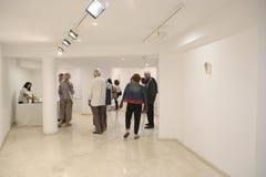 Εορτασμός εκθεμάτων τέχνης Moder στη Μαγιόρκα ευρέως στοκ εικόνες με δικαίωμα ελεύθερης χρήσης