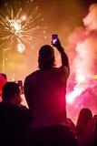 εορτασμός επετείου του 92ου έτους της αθλητικής λέσχης Goztepe Στοκ φωτογραφίες με δικαίωμα ελεύθερης χρήσης