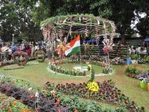 Εορτασμός ημέρας της ανεξαρτησίας στην Ινδία Στοκ εικόνα με δικαίωμα ελεύθερης χρήσης