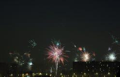 Εορτασμός ημέρας του νέου έτους Στοκ Εικόνα