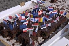 εορτασμός ημέρα Δανία ευρ& Στοκ εικόνες με δικαίωμα ελεύθερης χρήσης