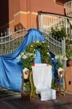Εορτασμός η γιορτή του Corpus Christi (σώμα Χριστού) επίσης γνωστή ως σώμα Domini Στοκ εικόνα με δικαίωμα ελεύθερης χρήσης