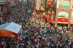 εορτασμός Κίνα ημέρα το εθ Στοκ Εικόνα