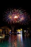 Εορτασμός πυροτεχνημάτων Στοκ Εικόνα