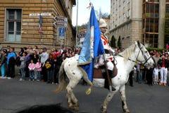 Εορτασμός στην πόλη Brasov στο χρόνο 2 Πάσχας Στοκ Εικόνα