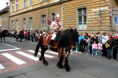 Εορτασμός στην πόλη Brasov στο χρόνο 5 Πάσχας Στοκ φωτογραφία με δικαίωμα ελεύθερης χρήσης