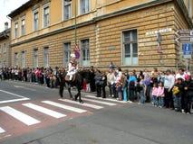Εορτασμός στην πόλη Brasov στο χρόνο 8 Πάσχας Στοκ Φωτογραφία