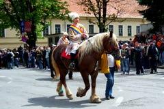 Εορτασμός στην πόλη Brasov 9 Στοκ Φωτογραφίες