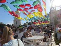 Εορτασμός στο Κίεβο στοκ φωτογραφία