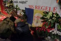Εορτασμός του βασιλιά Mihai στη Royal Palace στο Βουκουρέστι, Ρουμανία στοκ εικόνα με δικαίωμα ελεύθερης χρήσης