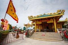 Εορτασμός του κινεζικού νέου έτους στο ναό Saphan Hin Στοκ φωτογραφία με δικαίωμα ελεύθερης χρήσης