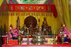Εορτασμός του κινεζικού νέου έτους στο ναό Saphan Hin Στοκ Φωτογραφία