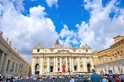 Εορτασμός του ST Peter και του ST Paul στο τετράγωνο του ST Peter ` s στο Ρ στοκ εικόνες