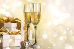 Εορτασμός το νέο έτος Στοκ Φωτογραφίες