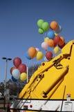 Εορτασμός φορτηγών απορριμάτων Στοκ εικόνες με δικαίωμα ελεύθερης χρήσης