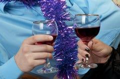 Εορτασμός Χριστουγέννων στοκ εικόνα με δικαίωμα ελεύθερης χρήσης