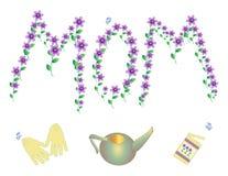 εορτασμός mom Στοκ Εικόνα