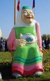 Εορτασμός Sabantui στη Μόσχα Αριθμός γυναικών Στοκ εικόνες με δικαίωμα ελεύθερης χρήσης
