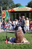 Εορτασμός Sabantui στη Μόσχα Στοκ Φωτογραφίες