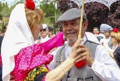 Εορτασμός ` SAN Isidro `, προστάτης της Μαδρίτης, στις 15 Μαΐου 2017, Μαδρίτη, Ισπανία Στοκ φωτογραφίες με δικαίωμα ελεύθερης χρήσης