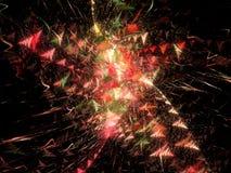εορτασμός starburst Στοκ φωτογραφία με δικαίωμα ελεύθερης χρήσης