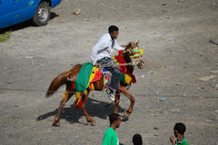 Εορτασμός Timkat στην Αιθιοπία Στοκ εικόνες με δικαίωμα ελεύθερης χρήσης