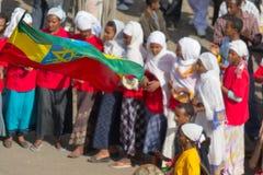 Εορτασμός Timkat στην Αιθιοπία Στοκ Εικόνες