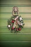 Εορταστικά Χριστούγεννα γιρλαντών Στοκ Φωτογραφία