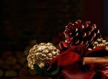 Εορταστικά Χριστούγεννα Στοκ Εικόνες